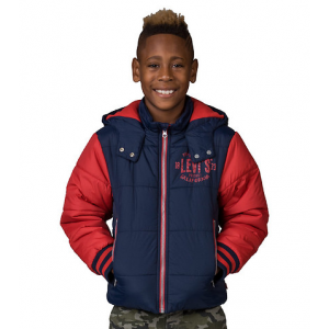 LEVIS Hooded Polyfill Jacket At $69.99 (jimmy jazz)
